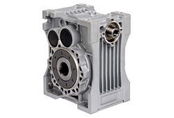 Module helical worm gear