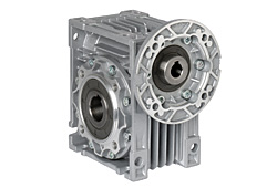 Module worm gear with motor flange